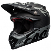 Bell Moto 9 Carbon Flex Fasthouse WRWF Black White Grey Helmet