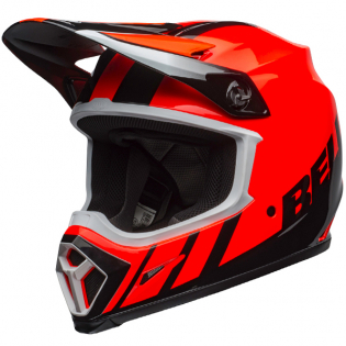 Bell MX9 MIPS Dash Orange Black Helmet