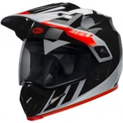 Bell MX9 MIPS Adventure Dash Black White Orange Helmet