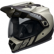 Bell MX9 MIPS Adventure Dash Sand Brown Grey Helmet