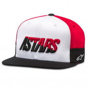 Alpinestars Faster Hat White Black Red