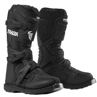 Thor Kids Blitz XP Black Boots