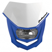 Polisport Halo H2 White Blue Headlight