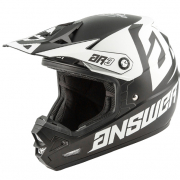 Answer AR3 Bold Black White Helmet