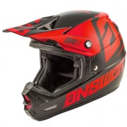 Answer AR3 Bold Black Red Helmet