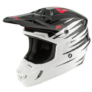 Answer AR1 Pro Glo White Black Pink Helmet