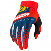 Answer AR-3 Korza Red Midnight Yellow Gloves