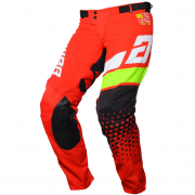 Answer Elite Red White Hyperacid Black Pants