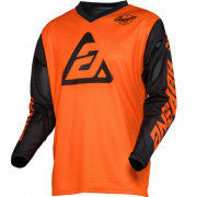 Answer Arkon Bold Black Orange Jersey