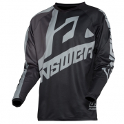 Answer Syncron Voyd Black Charcoal Steel Jersey