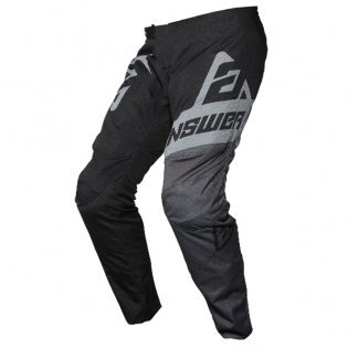 Answer Syncron Voyd Black Charcoal Steel Pants