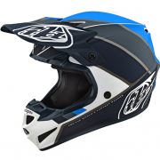 Troy Lee Designs Beta White Grey Polyacrylite Helmet
