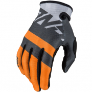 Answer AR-1 Kids Voyd Charcoal Orange Grey Gloves