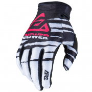 Answer AR-1 Kids Voyd White Black Pink Gloves