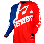 Answer Syncron Kids Voyd Red Reflex White Jersey