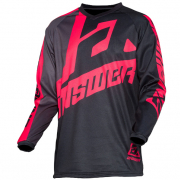 Answer Syncron Voyd Black Charcoal Pink Jersey