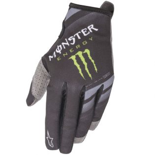 Alpinestars Radar Monster Ammo Black Green Gloves