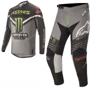 Alpinestars Racer Monster Raptor Black Green Kit Combo
