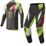 Alpinestars Techstar Monster Eli Tomac Black Green Kit Combo