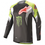 Alpinestars Techstar Monster Eli Tomac Black Green Jersey