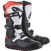 Alpinestars Tech-T Black Grey Red Fluo Trials Boots