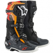 Alpinestars Tech 10 Black Grey Orange Red Fluo 19 Boots
