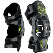 Alpinestars Bionic 5S Youth Black Fluo Yellow Knee Brace