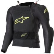 Alpinestars Kids Bionic Plus Black Fluo Yellow Protection Jacket