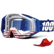 100% Racecraft Anthem Clear Lens Goggles