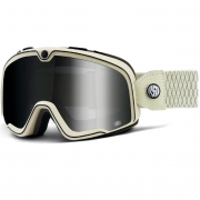 100% Barstow Classic Roland Sands Silver Lens Goggles
