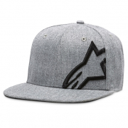Alpinestars Corp Snap Cap Grey Heather Black