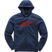 Alpinestars Ageless ll Navy Red Hoodie