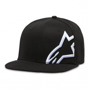 Alpinestars Corp Snap Cap Black White
