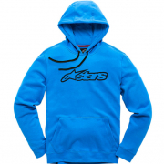 Alpinestars Blaze Fleece Bright Blue Navy Hoodie
