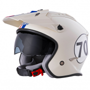 ONeal Volt Herbie White Red Blue Trials Helmet