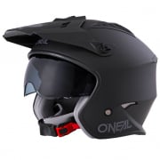 ONeal Volt Solid Black Trials Helmet