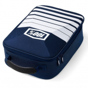 100% Navy White Goggle Case