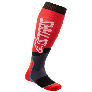 Alpinestars Plus-2 Kids Red White MX Socks