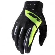 100% Celium Black Fluo Yellow Gloves