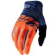 100% Celium Navy Orange Gloves