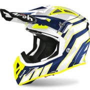 Airoh Aviator Ace Art Blue Gloss Helmet