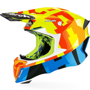 Airoh Twist 2.0 Frame Yellow Helmet
