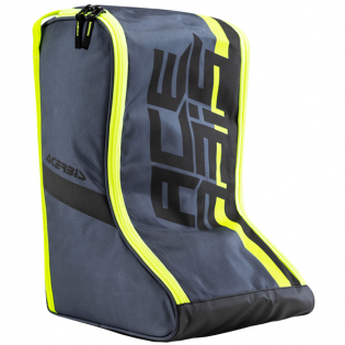 Acerbis Motocross Black Flo Yellow Boot Bag