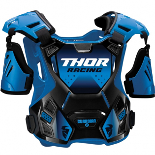 Thor Youth Guardian Black Blue Body Protection