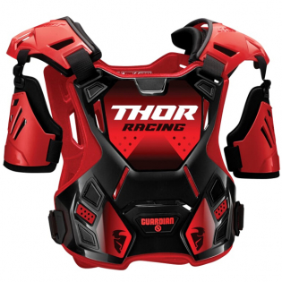 Thor Youth Guardian Black Red Body Protection