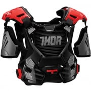 Thor Youth Guardian Body Protection - Black Red