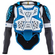 Acerbis Galaxy White Blue Body Armour