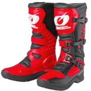 ONeal RSX Black Red Motocross Boots