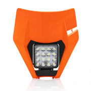 Acerbis KTM Orange Headlight & Mask Plate