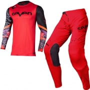 Seven MX Zero Ethika Red Kit Combo